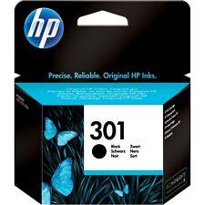 Original Genuine HP 301 Black Ink Cartridge For Deskjet Inkjet 3050A VAT INC