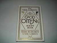 Signed Neil Gaiman The Good Omens Script Book Deluxe Limited Edition 1000