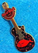 HOLLYWOOD HRC BONO U2 SIGNATURE 25 *FISH CAN FLY* GUITAR Hard Rock Cafe PIN LE