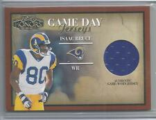 2001 Playoff Honors Football Isaac Bruce Game Day Jersey Card # CD-6