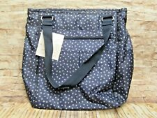 Take Two Tote Thirty One 31 Backpack Baby Diaper Bag Navy Dancing Dots Nwt