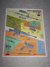 Bushmaster AR-15 Nomenclature Poster-universal application-esp. for custom build