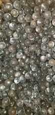 Vintage Clear glass marbles collection/wedding/decorative 4 pounds 1/2in to 7/16