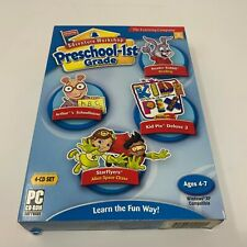 Kid Pix Deluxe 3 + Reader Rabbit Reading + Arthur's Schoolhouse + StarFlyers -Pc