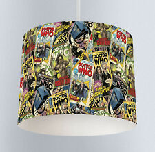 Dr Who (322) - Boys Bedroom Drum Ceiling Lampshade Light Shade