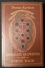 Qabalah, Qliphoth and Goetic Magic 1st edition - Thomas Karlsson Dragon Rouge