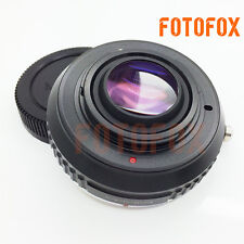 Focal Reducer Speed Booster Adapter Canon EOS EF mount lens to Micro 4/3 M43 GX7