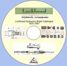 LOCKHEED HYDRAULICS BRAKE CATALOGUE 1935-1947
