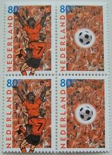 Netherlands - Block of 4 Football EK 2000 MNH