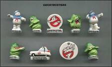 ThisAMAZING MINIATURE GHOSTBUSTER FIGURINE SET, STAY PUFT MARSHMALLOW MAN *MINT*