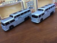 LLEDO DG23000 Greyhound Scenicruiser bus 1954 Smooth & Ribbed roof versions