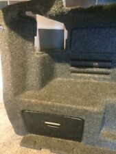 2006 Saab 9-3 1.9 tid Convertible N/S boot liner with light and storage door.