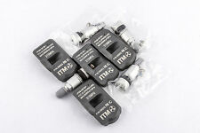 Set 4 TPMS Tire Pressure Sensors 315Mhz Metal for 12-15 Honda Civic