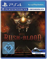 VR until dawn: Rush of Blood PS 4 VR oggi già culto:-) versione tedesca Top