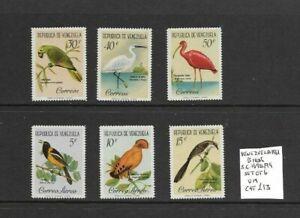 Venezuela 1961 Birds set MNH