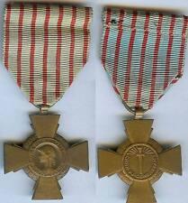 Médaille  - Croix du combattant 1914/1918 VERDUN Monnaie de Paris