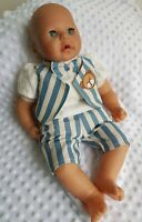 SALE !! New BABY ANNABELL BROTHER 2 Piece Stripe Shorts Set 17-19 inch boy doll