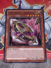 Carte YU GI OH CHAKRAM - ARTEFACT MP15-FR088 x 3