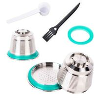 Stainless Steel Refillable Reusable Coffee Capsule Pod For Nespresso Machine GW