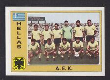 Panini - Euro Football 76/77 - # 112 A.E.K. Athens - Hellas