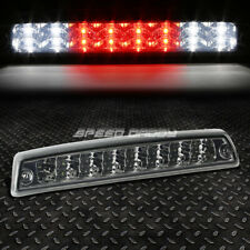 [2-ROW LED]FOR 94-02 RAM TRUCK THIRD 3RD TAIL BRAKE LIGHT STOP CARGO LAMP SMOKED