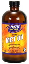 MCT Oil - New 16 fl. oz. Now Foods 16 fl oz Liquid