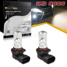 2x 9006 High Bright Led Fog Driving Light Bulbs HB4 White 6000K Lamp Set