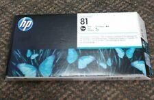 HP Designjet 5000 HP 81 C4950A OEM Black Printhead and Cleaner NIB exp 3/2020!!