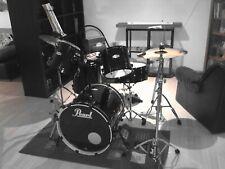 Pearl Schlagzeug gebraucht, komplett mit Becken, umfangreiches Zubehör