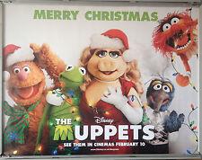 Cinema Poster: MUPPETS, THE 2012 (Christmas Quad) Amy Adams Jason Segel Kermit