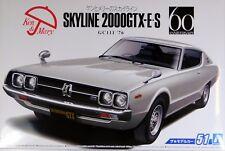 Aoshima 1/24 Nissan Skyline GC111 HT 2000GT-X 1973 Plastic Kit 05351