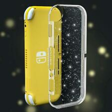 Nintendo Switch Lite Glitter Clear Silicone Case - Transparent Protective Cover