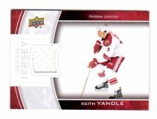 KEITH YANDLE NHL 2013-14 UPPER DECK GAME JERSEYS (COYOTES,PANTHERS,RANGERS)