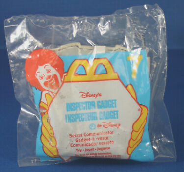 Disneys Inspector Gadget  1999 McDonalds Part 7 Secret Communicator MIB