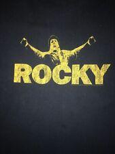 Rocky Balboa vintage designed Navy Blue T Shirt  Size XL 100% Cotton