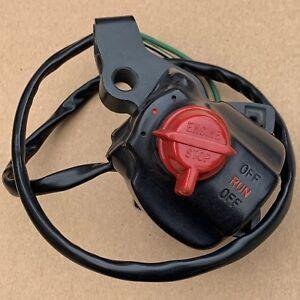 NOS GENUINE Honda Black Kill Switch Switchear for Honda XL75 1977 35150-152-670