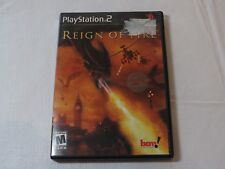 Reign of Fire Sony PlayStation 2 PS2 2002 M-Mature Action Adventure Pre-Owned