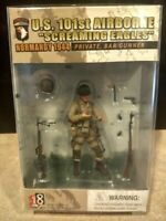U.S. 101st Airborne Screaming Eagles Normandy 1944 Set of 3 Action Figures New
