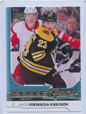 17/18 UPPER DECK YOUNG GUNS ROOKIE RC #235 JAKOB FORSBACKA-KARLSSON BRUINS 46553