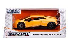 Jada Diecast Metal 1:24 Hyperspec Cars Lamborghini Huracan Performante YELLOW