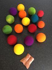 "(M)Lot Of Magic Trick Sponge Balls 2"" And Sanada Gimmick Goshman"