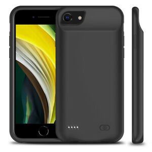 7000mAh External Battery Charger Case Fr iPhone SE2 6s/7/8 Plus Charger Cable 3m