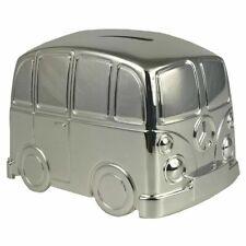 Personalised Engraved Silver Plated Camper Van Christening Dad Uncle Grandad