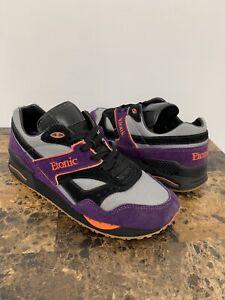 Vintage Etonic Stable Base Barneys New York Shoes Purple Black Men's Size 9