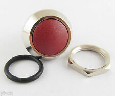 100pcs Metal Red Round Dome Push Button Momentary Waterproof Switch 12mm QN12-A5