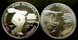 1983 LA OLYMPIAD SILVER COMM. ~ PROOF & UNCIRCULATED ~ COMBINE SHIPPING