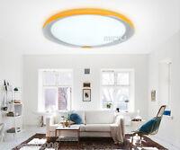 Modern Simplicity LED Yellow Diameter 39CM Height 9CM Bedroom Ceiling Light