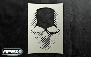 Ghost Recon Inspired Skull Stencil Quality Art - Special Ops Airsoft Special ops