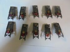 Aurora/AFX lot of 10 Top Gear Plates with Red Devil Arms