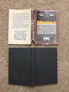 After Dark Hardcover Book Manly Wade Wellman A Novel Of John Silver 1980 DJ Flaw